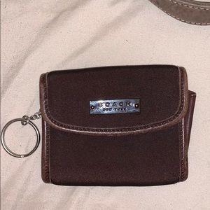 Coach keychain wallet (NWOT)